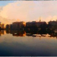My magic Petersburg_01878  Нева с видом на Адмиралтейскую набережную :: Станислав Лебединский