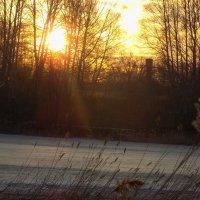 Таяние льда на закате :: Максим Мальцев