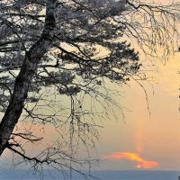 Короткий зимний день :: Сергей Чиняев
