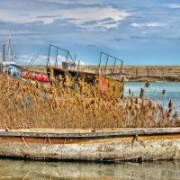 Старая лодка :: Julia Martinkova