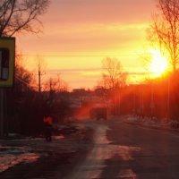 Весенний восход :: Николай Сапегин