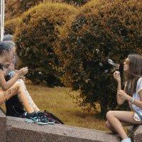Флеш - Моб Мыльных пузыриков :: Yura Prokhor