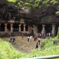пещерный Храм Шивы остров Элефант :: maikl falkon