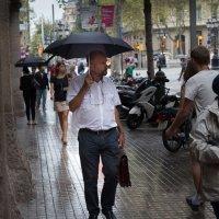 В Барселоне дождь... :: Борис Приходько