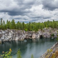 Рускеальский мраморный каньон :: Наталья Шкаева