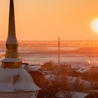 Оранжевый закат :: Александр Богданов