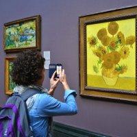 Национальная галерея в Лондоне..,,На заставку луч солнца и жёлтый букет.... :: Ирина -Василиса