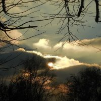 Солнышко за облаками :: Маргарита Батырева