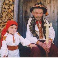 Гуцули два поколінні (копія) :: Степан Карачко