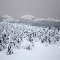 зима в горах 4 :: Константин Трапезников