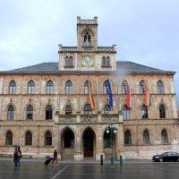 неоготическая ратуша 1841 года :: Olga