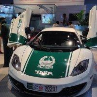 Вот такие  авто  у  полиции Дубаи :: Виталий  Селиванов