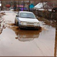 Там, где кончается асфальт, начинается Россия.. :: Андрей Заломленков