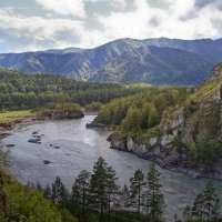 Катунь у Чемала :: Виктор Четошников