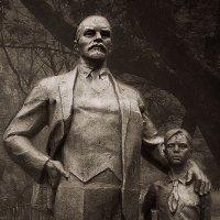 Ленин и пионер :: Леонид Сергиенко