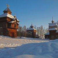 Защищённые забором с башнями сторожевыми... :: Александр Попов