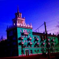 дом со шпилем.. :: александр дмитриев