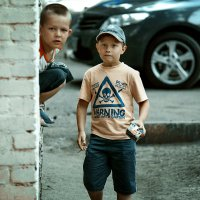 Околачиватели подворотен. :: Артемий Кошелев