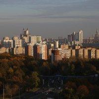 Вид с 22 этажа дома на Крылатском :: Михаил Зобов