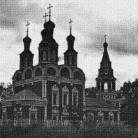 храм в Тропорёво :: Борис Александрович Яковлев