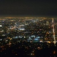 Панорама Лос-Анджелеса :: Ирина Зайцева