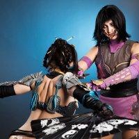 Mortal Kombat x Kitana .Mileena :: Kleo/Barbie/mk nonstopcosplay
