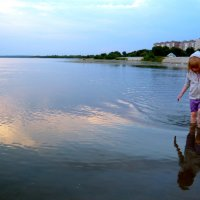 шагаем по воде... :: Анна и Сергей Симоновы