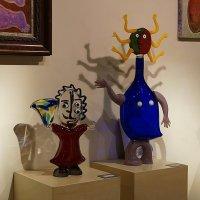 на выставке венецианского стекла :: Михаил Сбойчаков