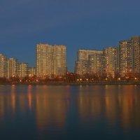 Панорама вечернего города :: Alex