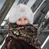 Зимой в деревне :: Елена Волгина