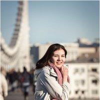 На мосту :: Ирина Абрамова