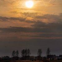 Апрельский пейзаж :: Анатолий Клепешнёв