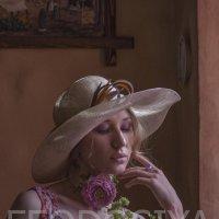 стиль бохо, невеста, девушка в шляпе :: Вера Федотова