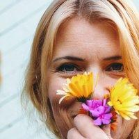Цветы от любомой дочки) :: Любовь Погодина