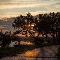 Закат на Чудо-острове. Свияжск :: Татьяна Курамшина