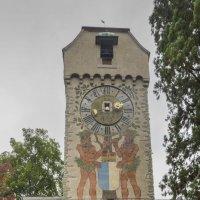 Швейцария, Люцерн. Башня Циттум в старой оборонительной стене. :: Наталья Иванова