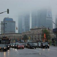 Москва туманная :: Татьяна Грищук