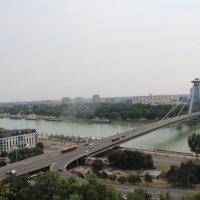 Мост через Дунай -Братислава :: Галина Оболдина