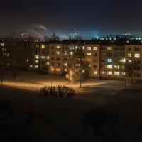 Зимняя ночь :: Aivaras Troščenka