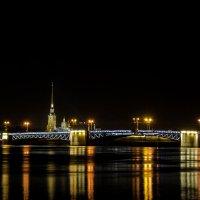 Ночь. Мост. Питер :: Владимир Дарымов
