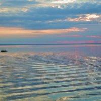 Закат над озером :: елена ферштут