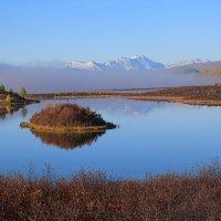Панорама озера Ильчир. Окинские плато. Исток реки Иркут :: Владимир Собардахов