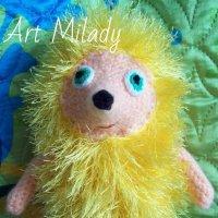 Желтый ежик :: Art Milady