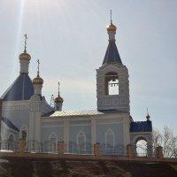 Строящийся храм :: Лена