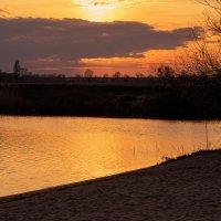 Вечерний пейзаж :: Оксана Лада