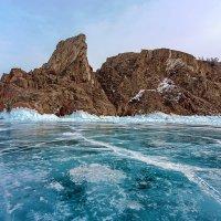 Скалы, лёд и небо :: Анатолий Иргл