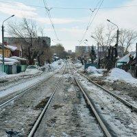 Новосибирские линии где ходят трамваи :: Света Кондрашова