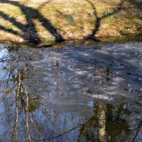 Последний лёд на реке :: Ирина Румянцева