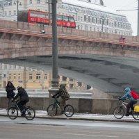 Велозаезд в Москве :: Любовь Бутакова