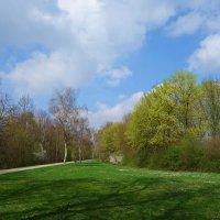 Раскрылось небо голубое Меж облаков в апрельский день.... :: Galina Dzubina